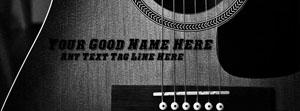 Play Guitar Name Facebook Cover