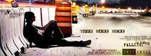 Sad Alone Boy Name Cover