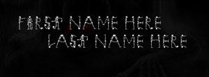 Scary Skelton Name Facebook Cover
