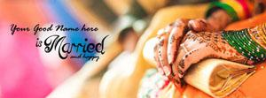 She is Married Name Facebook Cover