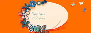Simple is Beautiful 4 Name Facebook Cover