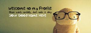 Welcome to my Profile Name Cover