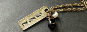 Weltron Urban Golden Necklace Name Cover