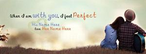 With you I feel Perfect Name Cover