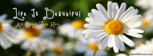 Life Is Beautiful Name Facebook Cover Photos