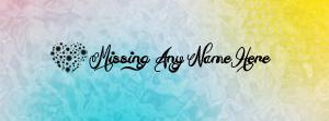 Missing Name Facebook Cover