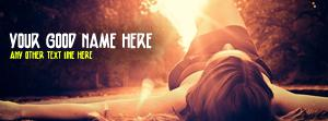 Stressed Girl Name Facebook Cover
