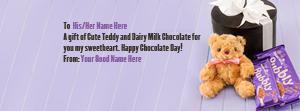 Unique Chocolate Day Wish