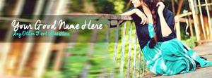Unique Stylish Girl Name Facebook Cover