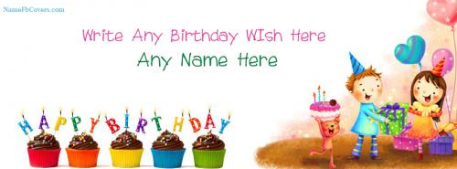 Unique Facebook Cover Photos For Birthday Wishes With Name FB Cover With Name