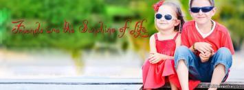Cute Friends Facebook Cover Photo