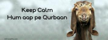 Eid ul Adha Funny FB Cover