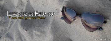 Heart Shape Glasses Cover Photos Fb