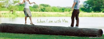 I Am With You Facebook Love Cover Photos