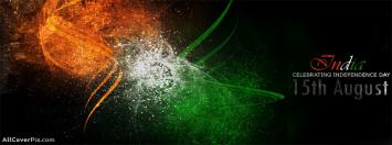 15th August Indian Independence Day Facebook Timeline Cover