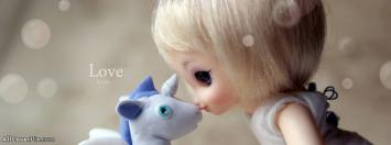 Beautiful Cute Dolls Facebook Cover Photos