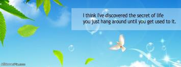 Beautiful Life Quote Facebook Cover Photo