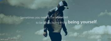 Being Lonely Facebook Boy Timeline Covers Photo