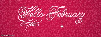 Best Hello February Facebook Covers