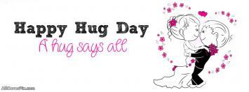 Best Hug Day Facebook Covers