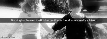 Best True Friend Facebook Cover Photos