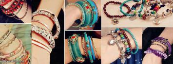 Bracelet Collection Girly Facebook Cover