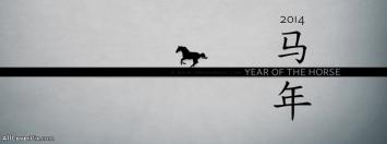Chinese New Year 2014-Year of Horse FB Covers