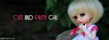 Cute And Pretty Girl Dolls Facebook Cover Photos