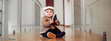 Cute Beautiful Baby Facebook Cover Photo