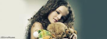 Cute Pretty Girl Baby Facebook Cover Photo