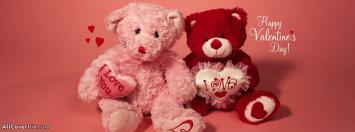 Cute Teddy Bears Of Valentine Day