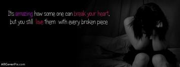 Facebook Broken Heart Girls Covers Photo