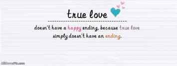 Facebook True Love Cover Photo