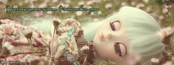 Feeling Awesome Dolls Facebook Cover Photos