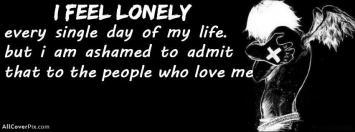Feeling Lonely Facebook Boys Cover Photos