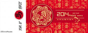Happy Chinese New Year 2014 Facebook Covers