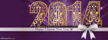 Happy Chinese New Year 2014 Wishes Facebook Covers