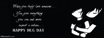 Happy Hug Day 2014 Facebook Covers