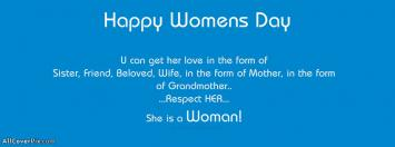 Happy International Womens Day Facebook Covers