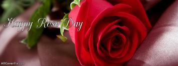 Happy Rose Day 2014 facebook covers