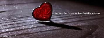 Heart Quote Facebook Cover Photos