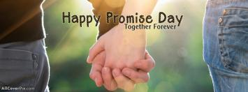 Holding Hands Promise Day Facebook Covers