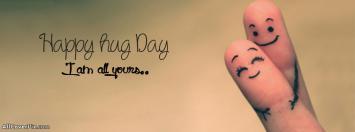 Hug Day Facebook Timeline Covers