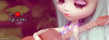 Love Music Facebook Dolls Cover Photos