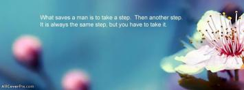 Moving On Quotes Facebook Cover Photos