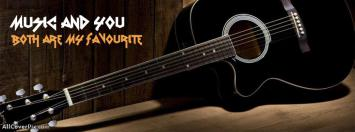 Music and You are my favourite fb cover
