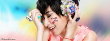 Music Lover Girl Facebook Timeline Cover Photos