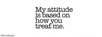 My Attitude Depend On You Cover Photos For Fb