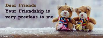 Precious Friendship Facebook Cover