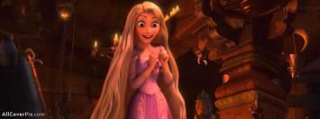 Rapunzel Tangled Girl Cute FB Cover